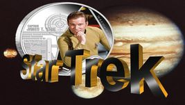 2015 Star Trek Proof  Silver 2 Coin Set Signed By William Shatner NGC PF70UC ER image 4