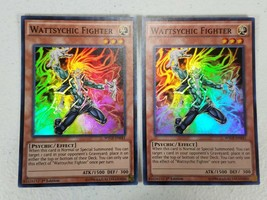Yu-gi-oh! Trading Card - Wattsychic Fighter x2 - WSUP-EN041 - Super Rare... - $1.00