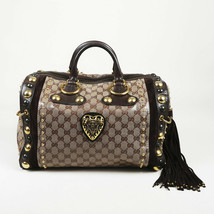 Gucci Babouska Boston Monogram Handbag - $860.00