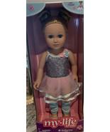 "My Life As Ballet 18"" Poseable Hiplet Ballerina Doll Leg Warmers Blonde ... - $37.83"