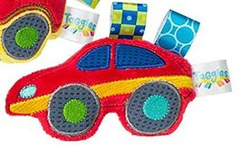 "Taggies™ Wheelies Sports Car Rattle 5"" by Mary Meyer - $14.36"