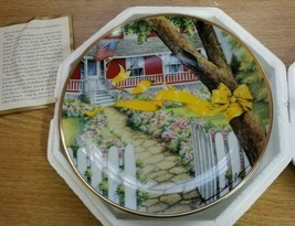 1991 Franklin Mint Plate Home Coming Yellow Ribbon Calvary USA Middle-East War - $14.10