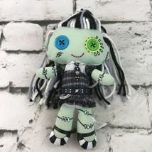 "Monster High Frankie Stein Plush 9"" Rag Doll Stuffed Animal Toy Mattel 2009  - $11.88"