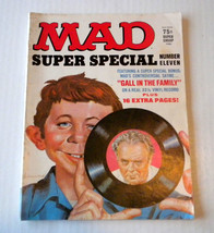 Vintage Mad Magazine Super Special Number Eleven 1972 VG Conditon - No Record - $7.99