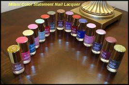 (New) Milani Color Statement Nail Lacquer Choose Your Color Free Gift + Free Sh - $6.25+