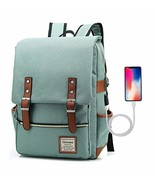 Goozo Laptop Backpack with USB Charging Port for Women Men to 15.6 Inch ... - $30.68