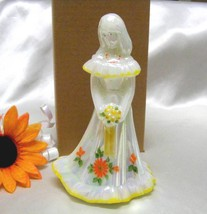 3705 Limited Edition Fenton Rosso Exclusive Sunflower Bridesmaid Doll - $95.00