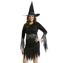 Sassy Witch Adult Womens Halloween Costume Size Med/Lg 10-14 NEW - $18.76