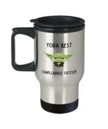 Compliance officer Travel Mug Yoda Best Compliance officer Gift for Him ... - £14.48 GBP