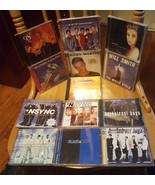 lot of 13 pop cd's: backstreet boys, nsync, Celine Dion, will smith, han... - $39.00