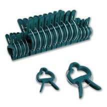 20pc Gentle Plant & Flower Clips for Supporting Stems - $5.49
