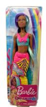 """Barbie Dreamtopia Mermaid Doll Teal Purple Hair 12"""" African American 201... - $9.50"""