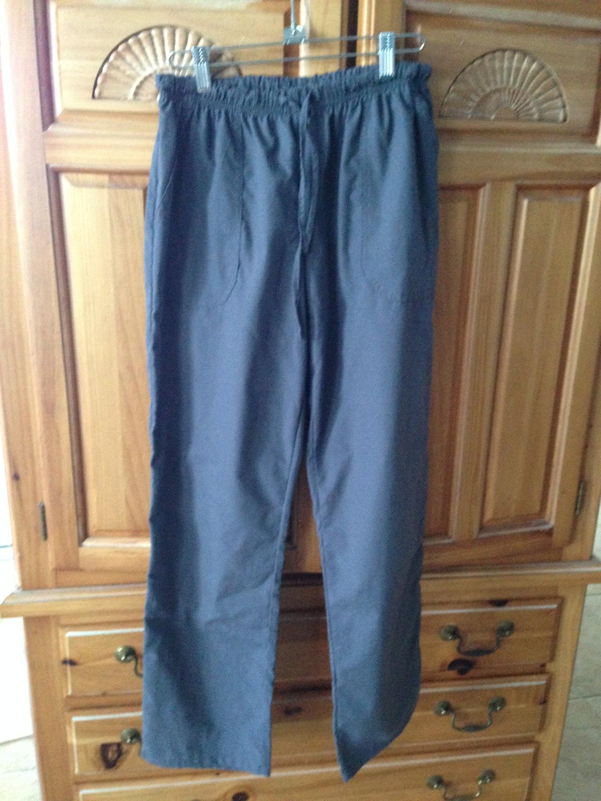 fc7c7290b44 Image. Image. Previous. Women's Grey Drawstring 2 pocket Scrubs Pants Size  Medium by Denice