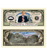 Pack of 25 - Donald Trump 2020 Re-Elect Presidential Novelty Dollar Bill... - $8.99