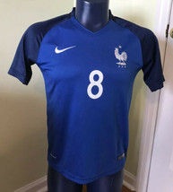Nike Mens Soccer Jersey French National #8 Otto FFF 2016 les bleus jerse... - $87.12