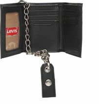 Levi's Men's Rfid Blocking Credit Card ID Chain Trifold Wallet image 7