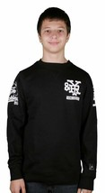Young and Reckless Jersey Tee Long Sleeve #86 Cotton Black White Graphic Shirt
