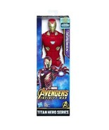 NEW SEALED 2017 Avengers Infinity War Titan Hero Iron Man 12 Inch Action... - $15.83
