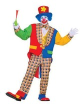 NEW Clown on the Town, Adult Man Costume by Forum Novelties,Blue/Red,One... - $34.64