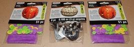 Halloween Craft Kits Creatology 3pks Sequins & Buttons For Pumpkins110pc... - $5.49