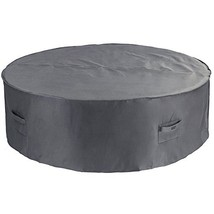 Patio Watcher Medium Round Patio Table and Chair Set Cover Durable and W... - $44.95