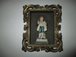 Rare Vintage 3D Plastic Box Boy Figure Inside Norleans Taiwan Republic o... - $9.99