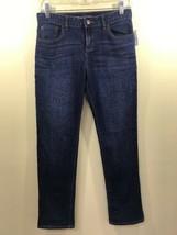 GAP Kids 1969 Girls Size 16 Jeans Regular Straight Dark Wash NWT - $36.45