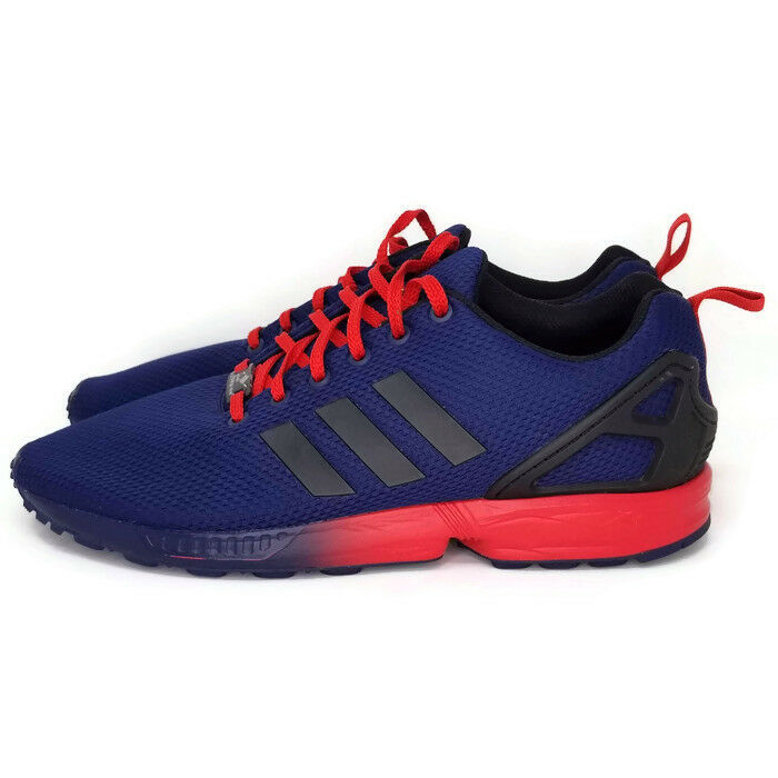 059a5beb899f1 Adidas Torsion ZX Flux Mens Blue Red 11 EU 45.5 Athletic Shoes Manchester  United
