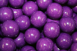 Gumballs Purple 25mm Or 1 Inch (57 Count), 1LB - $13.50