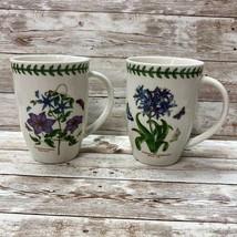 Portmeirion Botanic Garden Mugs African Lily & Clematis Florida 12.6oz - $46.53