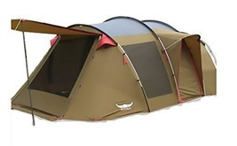 Buffalo Victoria Big Dome Tent Living Room Type Inner Tent and Roof Fly Sheet Gr