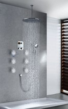 "Cascada Luxury Bathroom Shower Set with Luxury 16"" Shower Head (Ceiling Mount) R - $1,633.45"