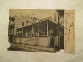 New Orleans Louisiana Madame Johns Legacy 1908 LA Postcard Damaged - $4.99