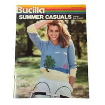 Vintage Bucilla Summer Casuals To Knit And Crochet Vol 70, 1983 - $11.64