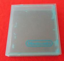 Original NES Storage Cases  Hard Plastic Case Transparent Blue - $6.92