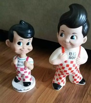 Vintage FUNKO WACKY WOBBLER BIG BOY 1998 Bobble Head AND 1973 BIG BOY Bank - $28.00