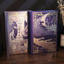 Hard Cover Vintage Journal Magic Notebook Illustrated Paper Writing Diary - $22.99