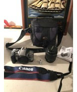 Canon Rebel K2 EOS 35mm Film Camera with EF 28-90mm Zoom Lens -  Case Cl... - $74.20