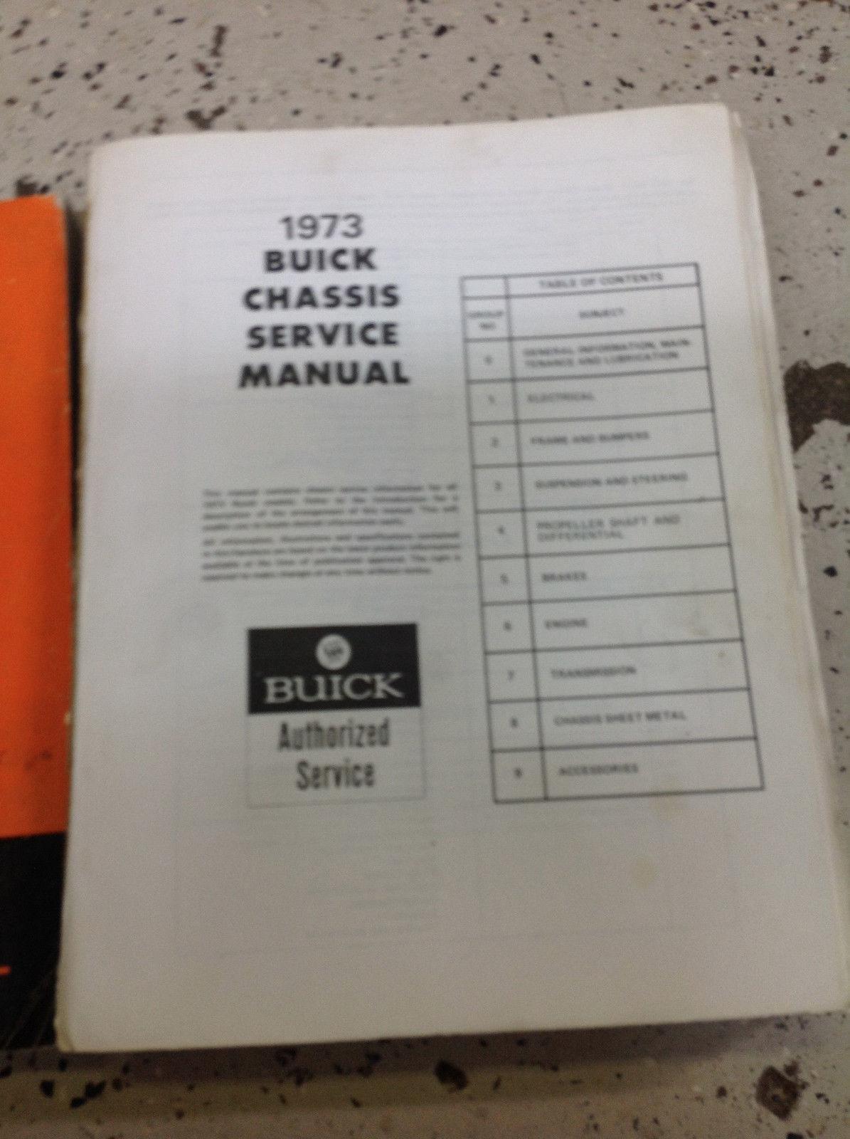 Werkstatthandbuch Buick Chassis Service Manual All Series 1978 Sachbücher Bücher