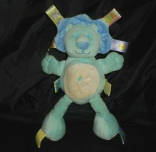 """11"""" TAGGIES MARY MEYER BABY BLUE LION STUFFED ANIMAL PLUSH TOY SECURITY ... - $22.21"""