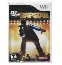 NEW FACTORY SEALED NINTENDO Wii DEF JAM RAPSTARS MUSIC DJ RAPPER - $13.82