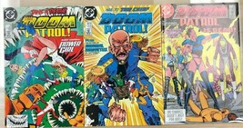 DOOM PATROL lot of (3) issues #14 #16 #18 (1988) DC Comics VG+/FINE- - $9.89