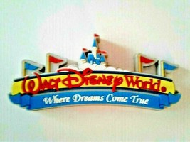 Walt Disney World Resort Icon Entrance Thick Magnet, NEW - $18.95