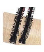 1.8 CM Wide Hook Elastic Lace Shoulder Strap Underwear/Bra Strap,Non-sli... - $10.33