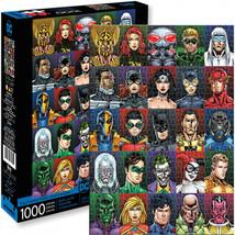 DC Heros and Villains Faces 1000 Piece Puzzle Multi-Color - $26.98