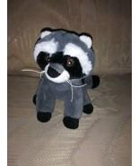 "Scholastic Raccoon Plush 6.5"" 2017 Stuffed Animal 557450 Surface Wash Ma... - $16.82"