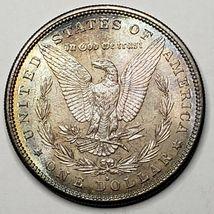 1881S Toned MORGAN SILVER $1 DOLLAR Coin Lot# 519-21 image 3