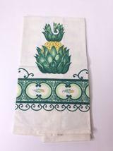 Kay Dee Designs Linen Kitchen Dish Guest Finger Tea Towel Pineapple Fruit Yellow image 8