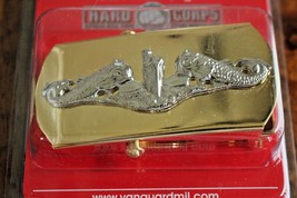 Usn Navy Cpo Chief Petty Officer Submarine Sub Crews Warfare Dolphin Belt Buckle - $24.70