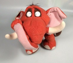 Disney Tarzan Tantor Elephant Stuffed Plush animal Toy 1998 Mattel Trunk... - $72.53